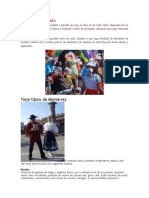 Vestuario Tlaxcala