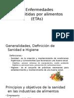 1. Enfermedades Transmitidas Por Alimentos ETAs