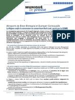Gestion des aéroports de Brest et Quimper