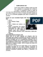 Acero Duplex 2205