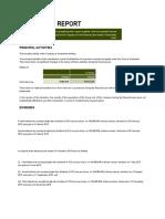 Aurora - Directors Report