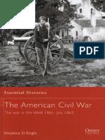 Osprey - Essential Histories 010 - American Civil War (2) West 1861-63