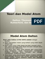 Teori Dan Model Atom