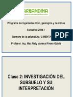 Clase 2 Investigación Del Subsuelo (1) (1)