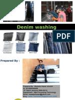 Denim Washing Process