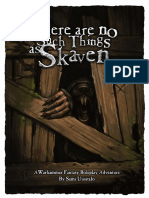 There Are No Such Things as Skaven PJ