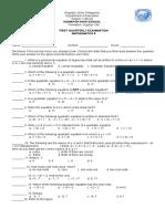 Math Gr9 1stqtr