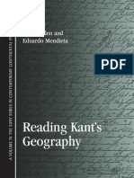 Zz Reading Kants Geography
