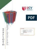 Modelación Estructural Sap2000