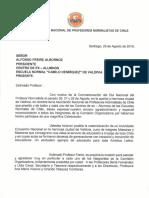 Carta Valdivia Agradecimientos Dnpn