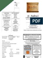 St Andrews Bulletin 925