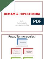 DEMAM & HIPERTERMIA