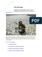 Contaminación Del Agua111
