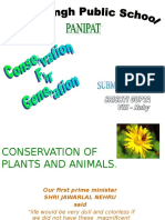 Conservation For Generation.ppt