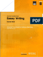 117040134 Essay Writing
