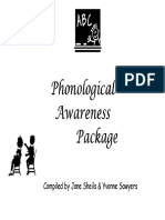 09 Phonological Awareness Activity Package (2)