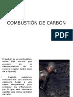 Combustión de Carbón