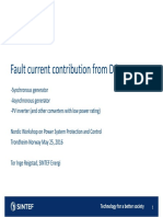 SINTEF Reigstad Fault Current Contribution From DG