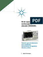 Kit de Capacitación Del Osciloscopio El Educador (DSOXEDK)