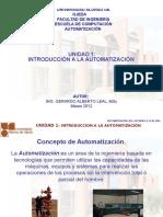Unidad 1 Introduccion a La Automatizacion