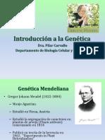 Introducción a la genetica
