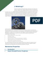 Powder Metallurgy EPMA
