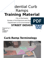 Residential Curb Ramps Training Material