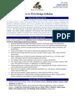 syllabus - web design 2016-2017