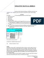 Pay roll  Administrative Manual 1003