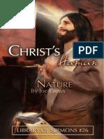 Christ Human Nature