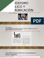 Periodismo Público y Comunicación Segunda Semana de Julio