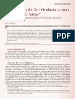 Mecanismos Da Dor Orofacial e Suas Aplicações Clínicas