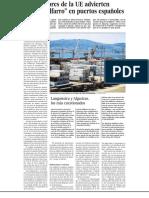 """Los auditores de la UE advierten del """"despilfarro"""" en puertos españoles"""