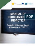 Manual de programacion Didáctica