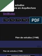 Planes de Estudios Licenciatura en Arquitectura Centro Universitario de Arte Arquitectura y Diseño