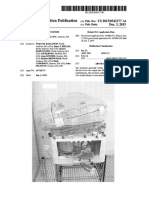 U.S. Pat. App. 2015-342,177, entitled Ex Vivo Organ Care System, pub., Dec. 3, 2015.