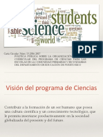 Carta de Ciencias Final