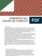 Comandos Del Equipo de Computo