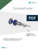 IMI CCI Product VSGIC Desuperheater