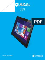 Unusual 10w - Manual Windows 8 Cast