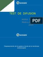 Test de Difusion