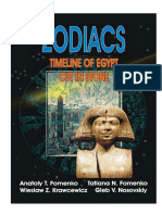 Fomenko - Zodiacs - Timeline of Egypt Cut in Stone (2005)