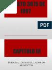 Decreto 3075 de 1997_ Capitulos III -IV- V