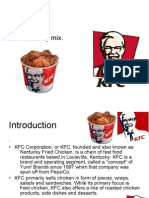 19080033 Kentucky Fried Chicken KFC Marketing Mix Four Ps