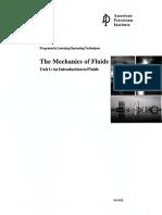 API-1041WB-The Mechanics of Fluids Unit-1 an Introduction to Fluids