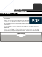 11575300 Life Cycle Costing