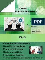 Dia 2 La Comunicación y La Motivación Dra Norma Aujat