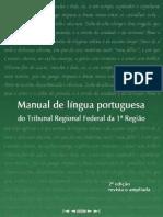 Manual de Lingua Portuguesa Do TRF Da 1a. Região