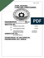 Application of Hvac