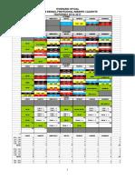 Itinerario Final Aprobado y Oficial 2016-17 LBPRC